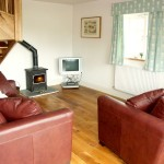 Open Plan Living at Cae Caled With Log Burner | Romantic Self Catering | North Wales