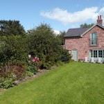 The Garden | Cae Caled Self Catering | Glan Clwyd Isa