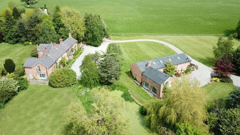 The Coach House | Glan Clwyd Isa | Aerial Shot