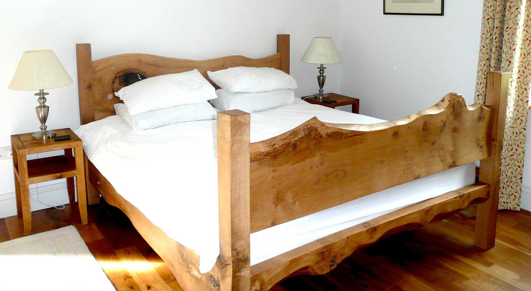 Luxury Self Catering Master Bedroom | Glan Clwyd Isa | Homeslider Image