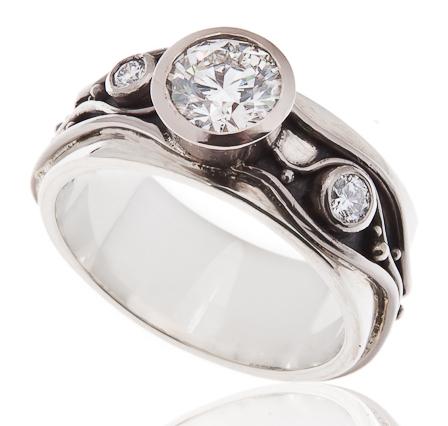 Cropped Diamond Ring   Glan Clwyd Isa