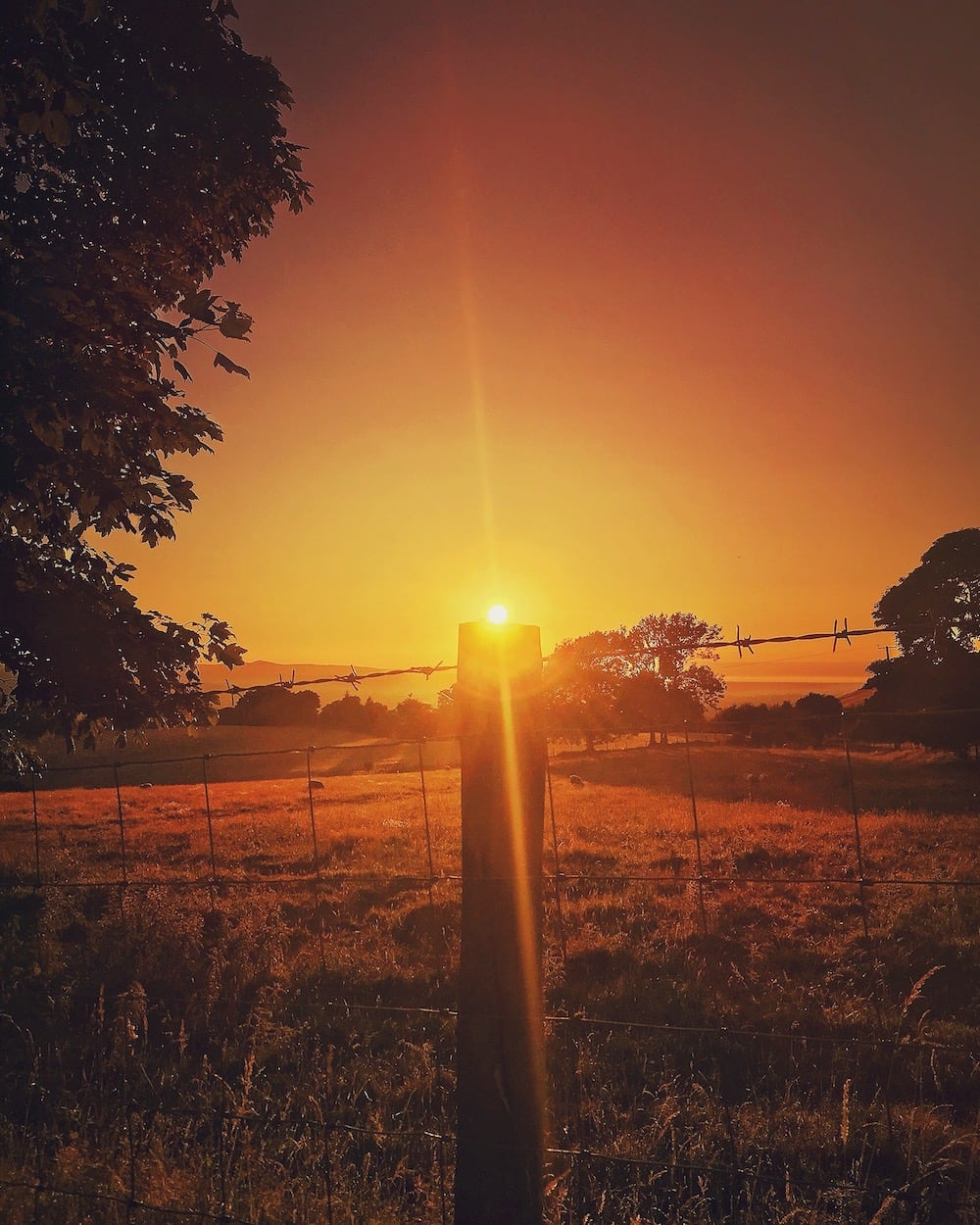 Glan Clwyd Isa   Denbighshire Sunsets 3   thefrozendivide